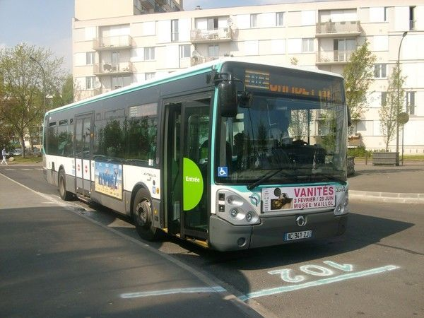 Pr sentation de la ligne bus titus titus ligne 3 - Bus 351 paris ...