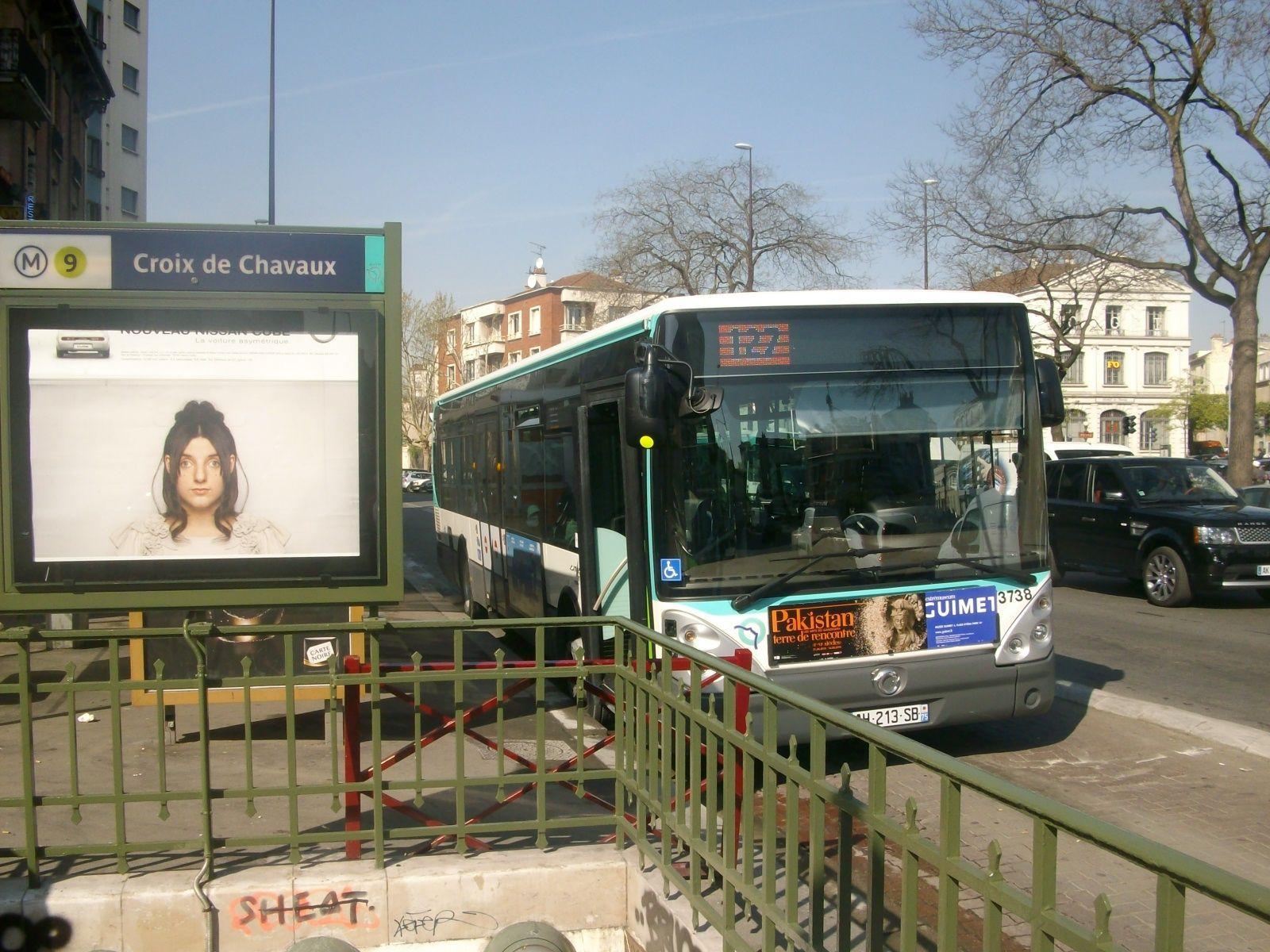 Pr sentation de la ligne bus 127 - Piscine de croix de chavaux ...